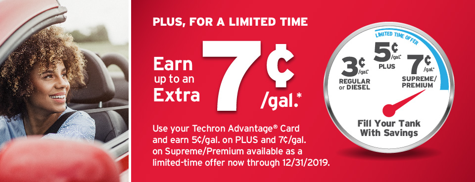 Chevron And Or Texaco Techron Advantage Credit Cards