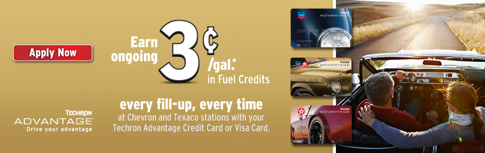 Chevron andor texaco techron advantage credit cards credit card information colourmoves